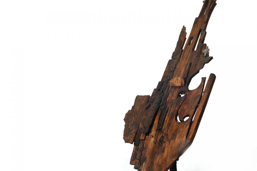 Violino roberto giansanti scultore