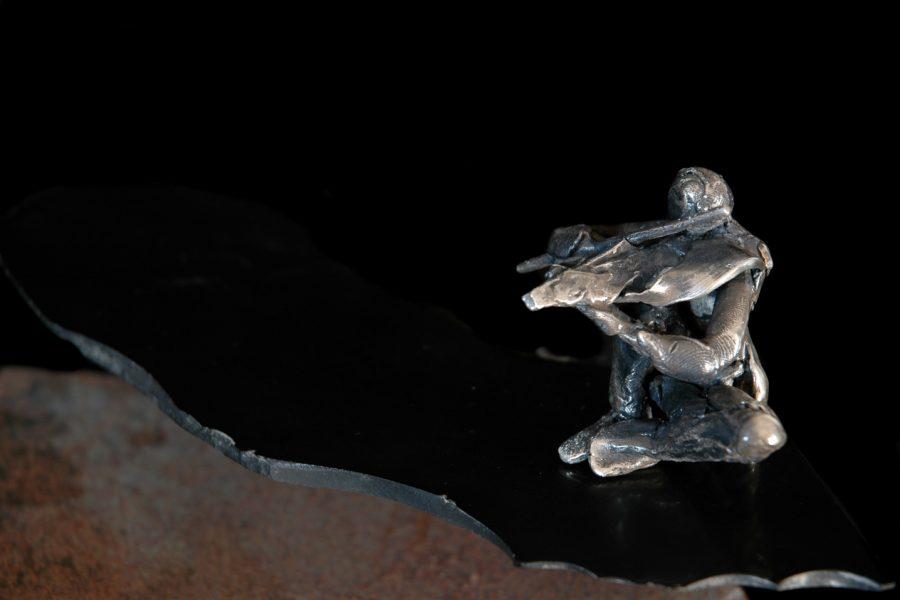 Suoni verso l'orizzonte roberto giansanti scultore