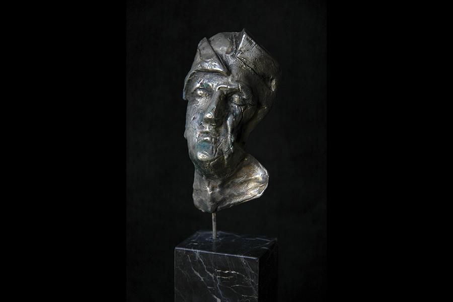 Lacrima d'argento roberto giansanti scultore