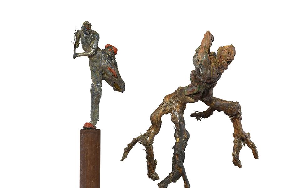 Infine germogli un canto - roberto giansanti scultore