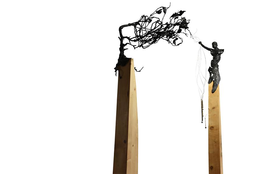 Sono vento - roberto giansanti scultore