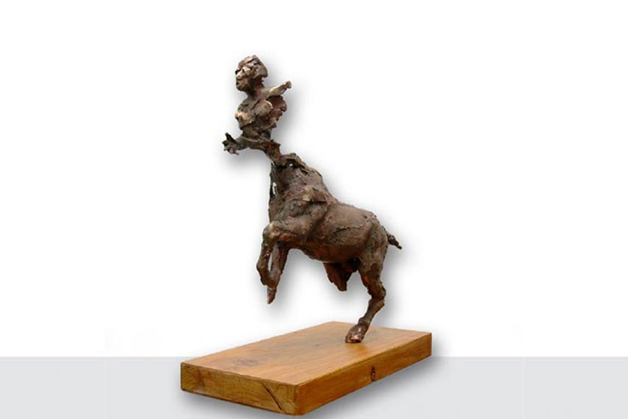 Centauro - roberto giansanti scultore