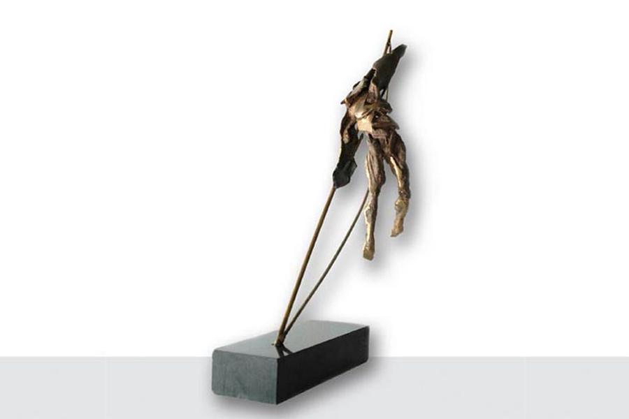 Soldato - roberto giansanti scultore