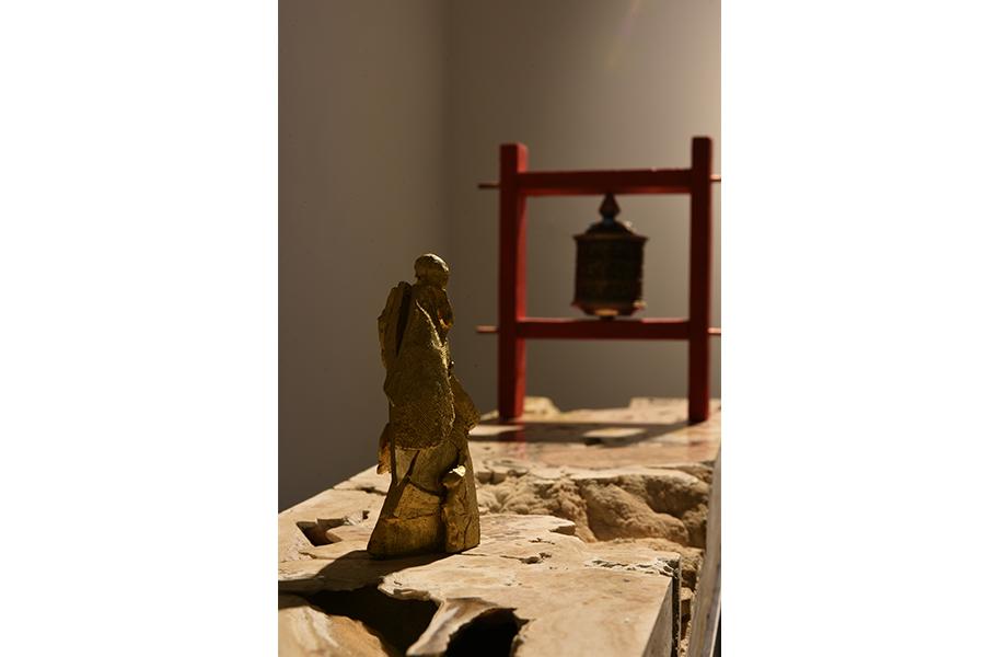 ruota di preghiera roberto giansanti scultore