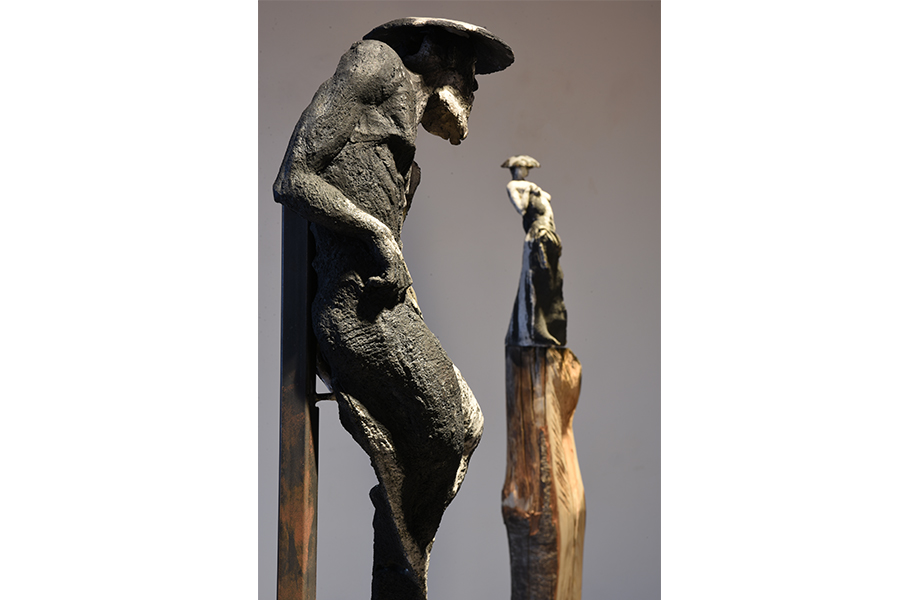 geishe e samurai roberto giansanti scultore