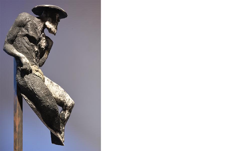 samurai roberto giansanti scultore